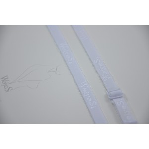 Бретели WeiyeSi  ширина - 12 мм Белый