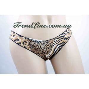 Трусики WeiyeSi № 5161 Леопард