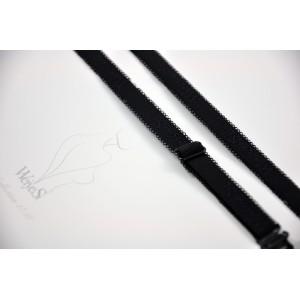 Бретели WeiyeSi  ширина - 10 мм Чёрный