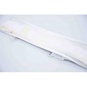 Бретели силиконовые белые ширина - 10 мм