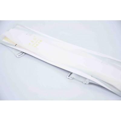 Купить Бретели силиконовые белые ширина - 10 мм оптом